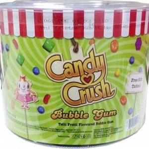 candy crush Tattoo bubble gum Tutti Frutti Flavoured tub 200 pleces x 4.5g
