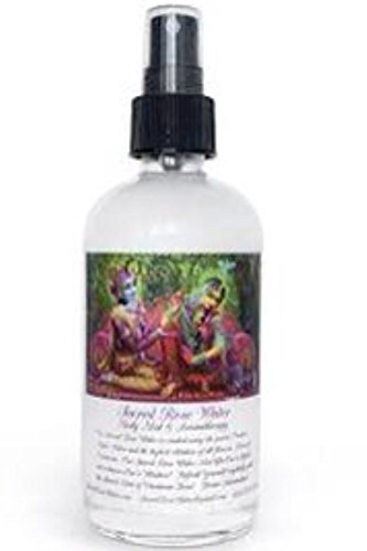 Sacred Rose Water Spray Body Mist & Aromatherapy 8oz Glass 100% Pure Rose Oil Divine Intoxication in Every SprayAmazing Facial Toner Great for Face, Skin, Opening of the Heart