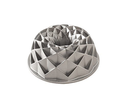 Nordic Ware 88337 0011172883377 Jubilee Bundt Pan, Metallic, One Size,