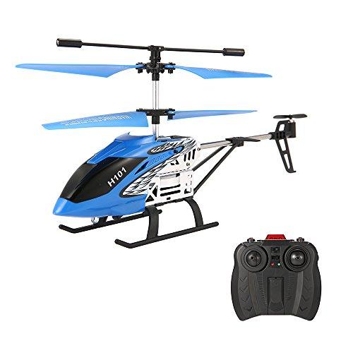 MiniRCHelicopter,EACHINEH101RemoteControlHelicopterDroneToyforKids3.5CHLEDLight withGyro