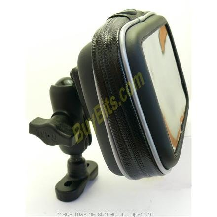 8980 System - Buybits Waterproof Motorcycle/Bike Mount for Tomtom GO 520, 520t Traffic & Assist