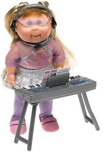 (Winway Corp Ltd Cabbage Patch Kids Mini Dolls - Pop Stars Collection - Light Hair Girl in Idol Silver Skirt Outfit)