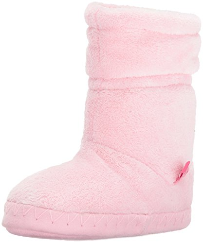 Joules Girls' Padabout Slipper, Rose Pink, S M US Toddler