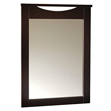 South Shore Furniture Step One Collection, Mirror, Chocolate 3159122 TH1827