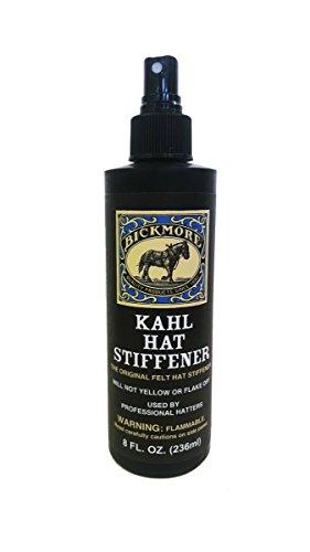 Bickmore Original Professional Kahl Felt Hat Stiffener 8 oz Pump