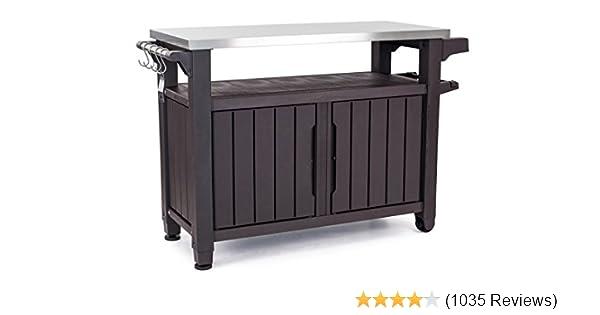 Amazon Com Keter Unity Xl Indoor Outdoor Entertainment Bbq Storage