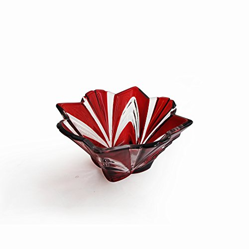 Fifth Avenue Crystal Aurora Bowl, Large, Ruby