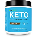 Exogenous Ketones BHB - Perfect Supplement for Ketosis, Energy & Focus, BHB Salts Powder Drink Or Shake for Keto Diet - 15 Servings - Chocolate by Raw Green