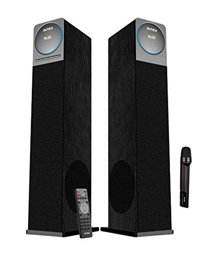 Intex IT-12001 SUF BT Tower Speakers – Black
