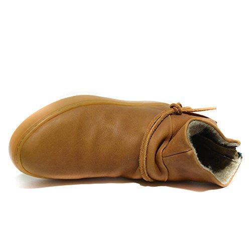 Satorisan - Zapatillas de Piel para mujer Marrón marrón 36 41