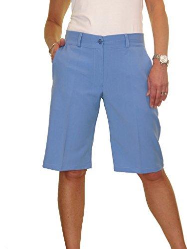 Sera ICE Tailored Azzuro Giorno lavabile intelligente pantaloncini 1492 Ladies HYrRxXY