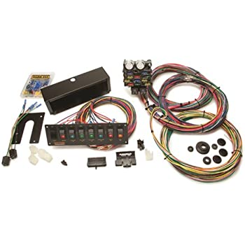 painless 50003 12 circuit wiring harness with 8 switch panel automotive. Black Bedroom Furniture Sets. Home Design Ideas