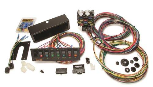 Wiring Harness Purpose : Painless multi purpose switch panel kit frugal