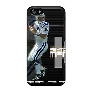 Iphone 5/5s LJf623tEgm Custom Fashion Indianapolis Colts Skin Scratch Resistant Hard Phone Case -AlissaDubois