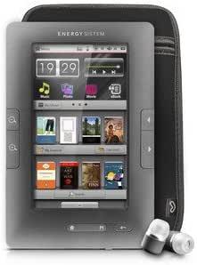 Energy Sistem Color C4+ Touch - Lector eBook (4 GB, HD, DRM, FM), color gris: Energy Sistem: Amazon.es: Electrónica