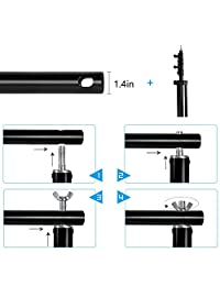 10 photographic video studio background stands, adjustable, resistant, for photography, high-bottom, telescopic, with carrying bag