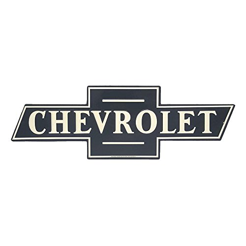 Chevrolet, Vintage Retro Embossed Metal Tin Sign, Wall Decorative Sign