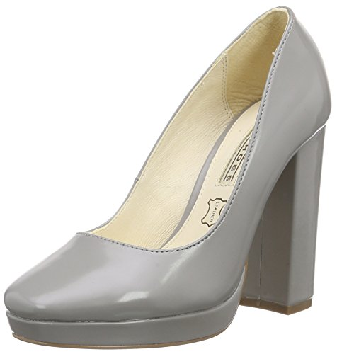 Pu Grey 115 Buffalo 01 Damen 1617 Box Pumps Grau ZUzx0tqwx
