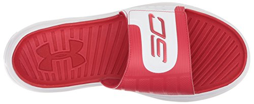 Curry Armour3000037 600 Claquettes Homme Red Under Iv White SFPwxx