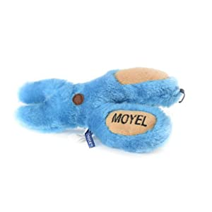 Copa Judaica Chewish Treat Moyle Scissor Squeaker Plush Dog Toy, 8 by 7.5-Inch, Multicolor Click on image for further info.