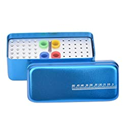 60-Hole Multi-Use Dental Endo Block, Ste...