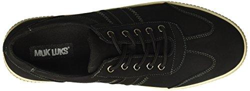 Muk Luks Mens Nick Sko-svart Sneaker Svart