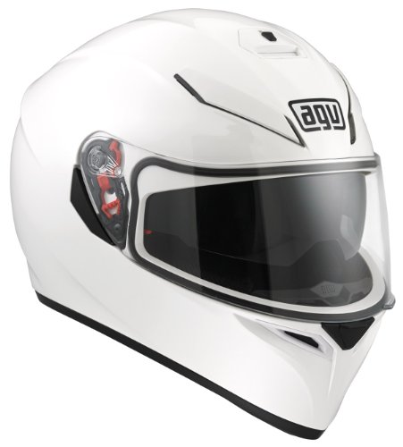 Agv K-3 SV Mono Helmet-White-XL - Mono Motorcycle Helmets