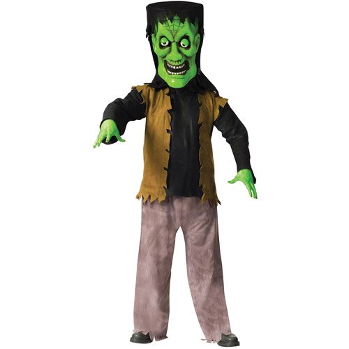 Bobble Head Monster Costumes - Bobble Head Monster Adult Costume - Standard