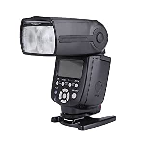 Yongnuo YN560IV Sistema de Disparador de Flash Esclavo Flash Speedlite Master +, Integrado inalámbrico para Canon, Nikon, Pentax y Olympus Cámaras Digitales Fujifilm Panasonic
