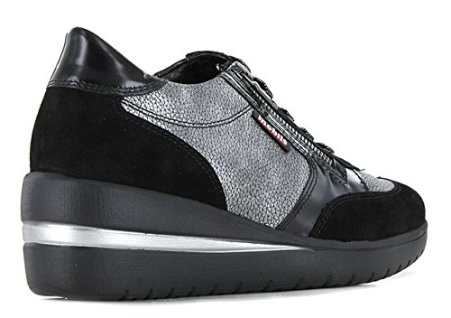 MOBILS Patrizia - Baskets Basses/Baskets Mode - Femme Noir IOWAHw