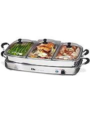 MaxiMatic EWM-6171 Elite Platinum 3-Tray 2-1/2-Quart Buffet Server