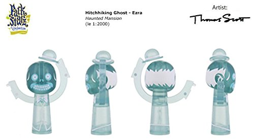 Disney Parks Vinylmation Park Starz Series 3 Hitchhiking Ghosts Ezra- Variant in Sealed Tin! ()