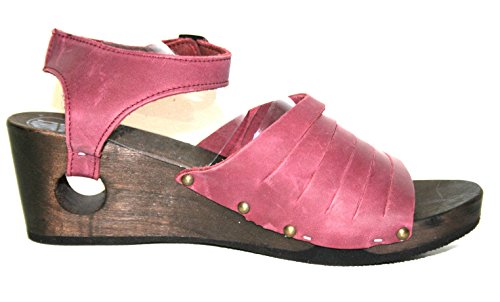 para Morado violeta de Holland of Piel Sandalias Loints vestir mujer Morado violeta de 6z0qU7f
