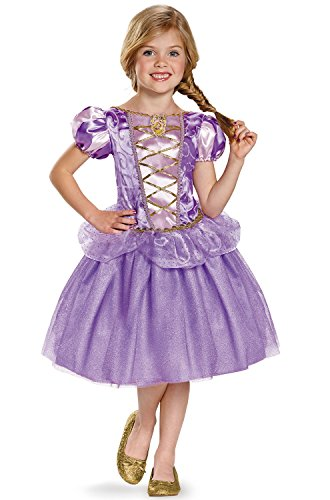 Rapunzel Classic Disney Princess Tangled Costume, -