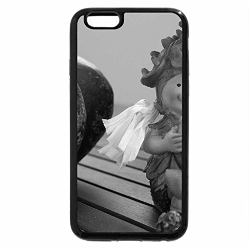iPhone 6S Plus Case, iPhone 6 Plus Case (Black & White) - Autumn