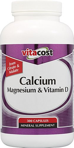 Vitacost Calcium Magnesium & Vitamin D -- 300 Capsules