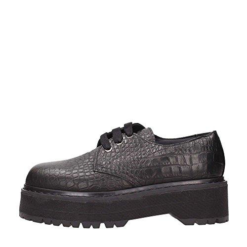 Pinko Montgomery Lace Shoes Femme Noir