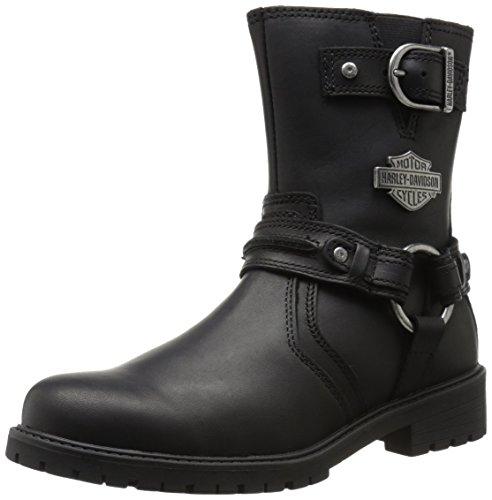 Harley-Davidson Men's Abner Motorcycle Harness Boot, Black, 9 M US