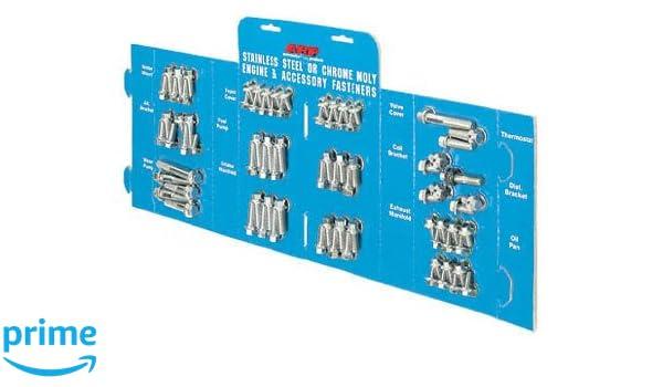 Set of 12 ARP 1001107 Black Oxide 12-Point Header Bolts