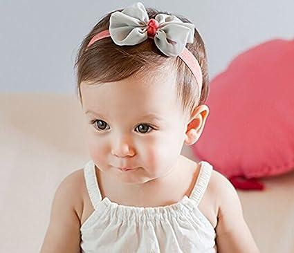 Niedlich Flores Kids bebé niña pelo banda/cinta Newborn pelo banda ...