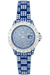 Toy Watch Women's TSC02BL Crystal Blue Plastic Watch