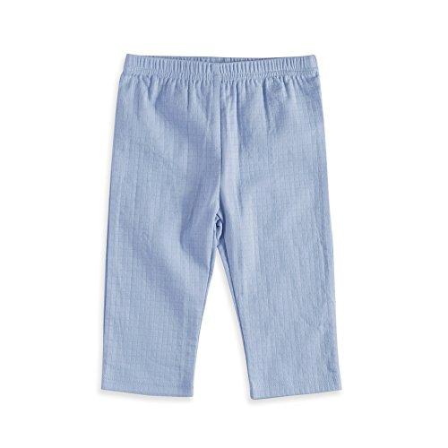 Aden by aden + anais Baby Kimono Pants, Brunnera Blue, 0-3M