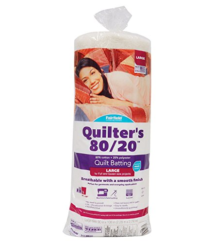 - Fairfield Quilter's 80/20 Quilter's 80/20-Queen Size, 90