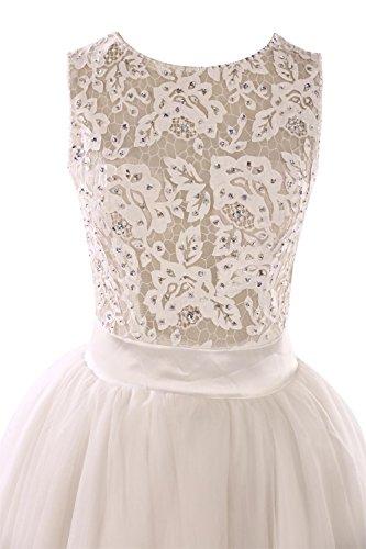 YiYaDawn - Vestido - trapecio - para mujer Rosa