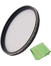 JONGSUN 67mm Polarizing Filter, Circular Polarizer Filter, S-Pro HD Nano MRC16, 16 Layers Multicoated, NITTO AGC Optics Glass, CPL Filter for Camera Lens