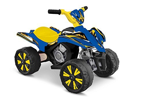 (Kid Motorz Xtreme Quad 6V Vehicle, Blue & Yellow by Kid Motorz)