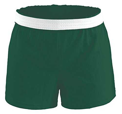 Original Soffe Cheer Shorts Adult X Small Forest Green