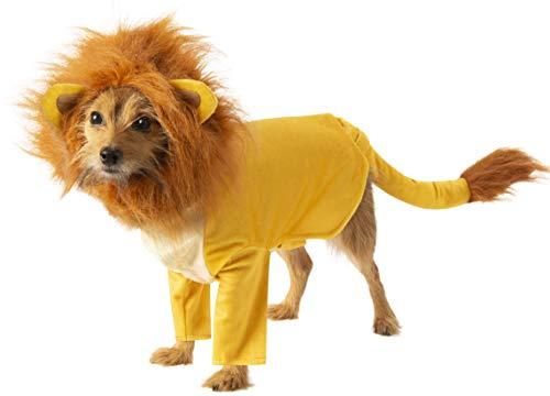 Rubie's Disney: Lion King Pet Costume, Simba, X-Large -