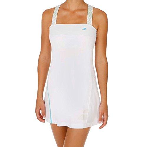 Babolat Womens Strap Tennis Dress - White - XO