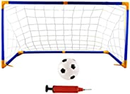 BESPORTBLE 1 Set of Sports Indoor Soccer Goal Set Football Goal Portable Soccer Net Kids Soccer Game Toy for B